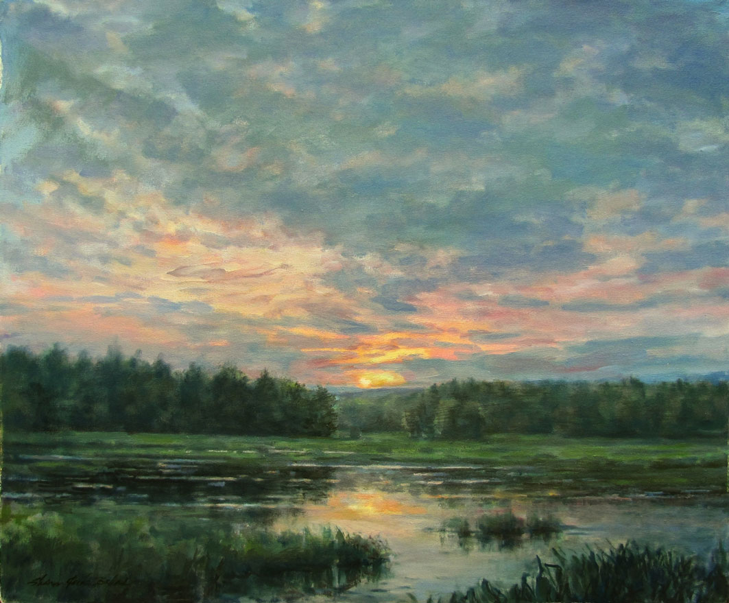 Image Sharon Jordan Bahosh - Silent Marsh
