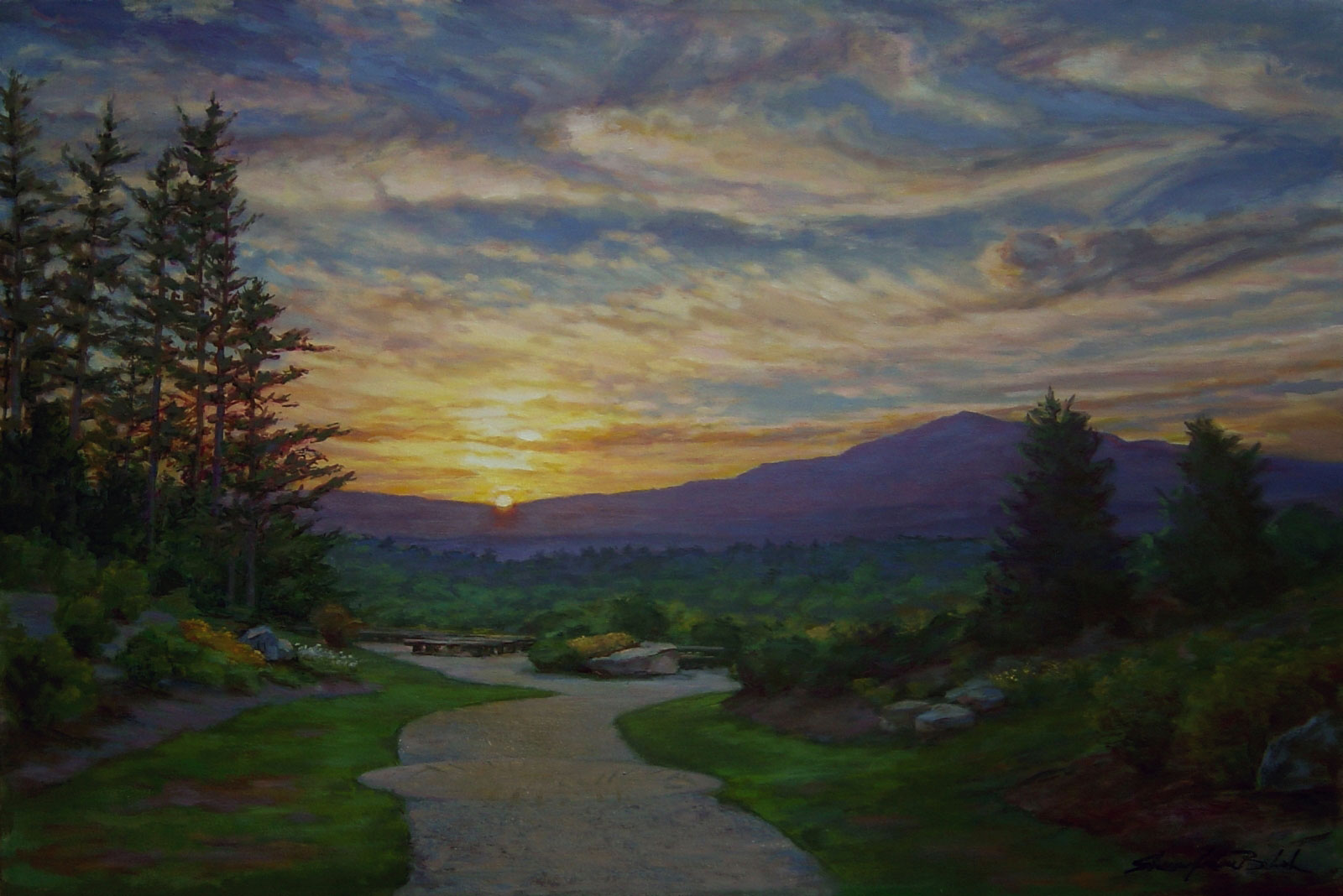 Image Sharon Jordan Bahosh Sky Color Monadnock Mountain
