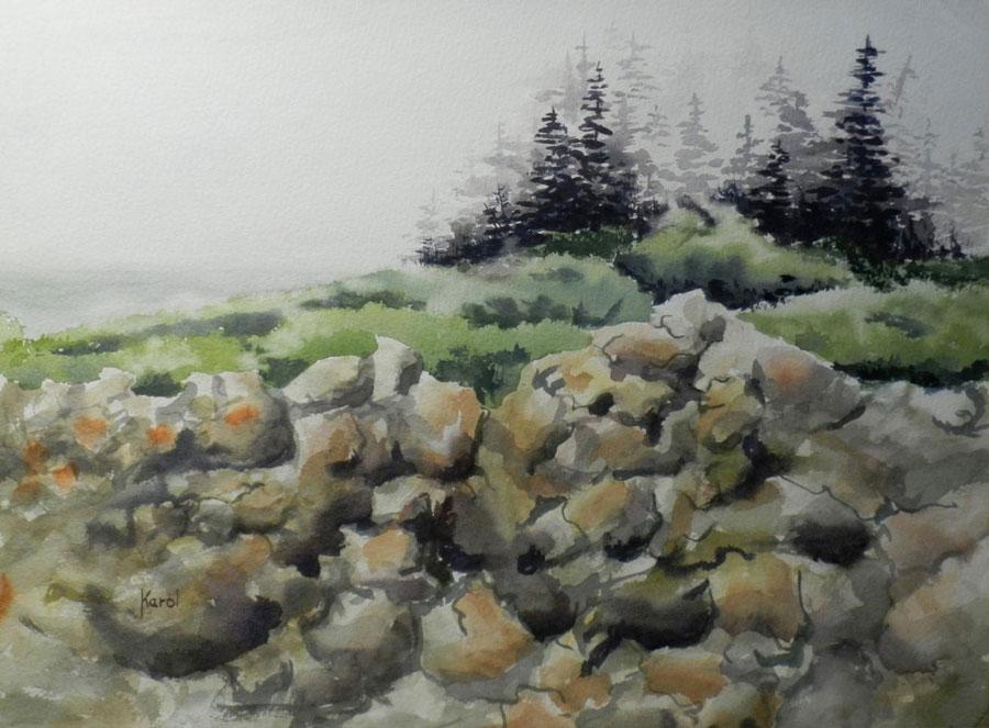 Image Karol Berzins-The Maine Coast