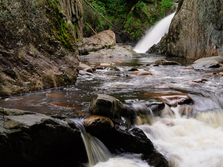 Image Guy Biechele Garfield Falls Photograph