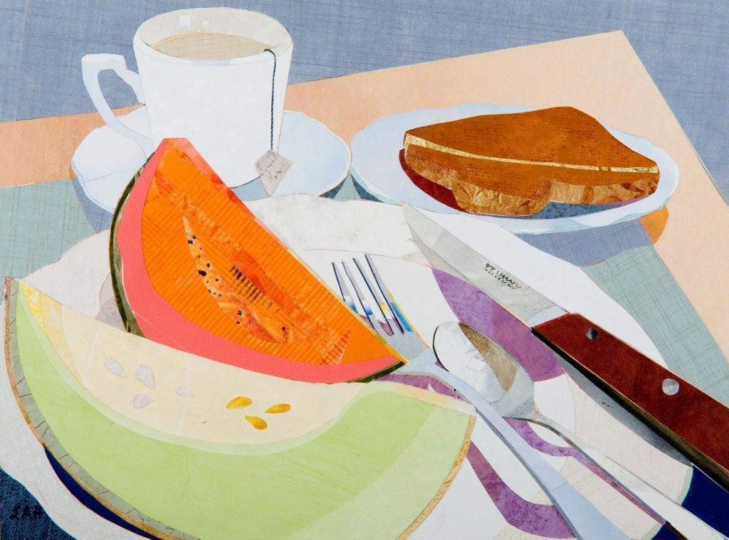 Image Len Haug-Orange and Green Melon Breakfast