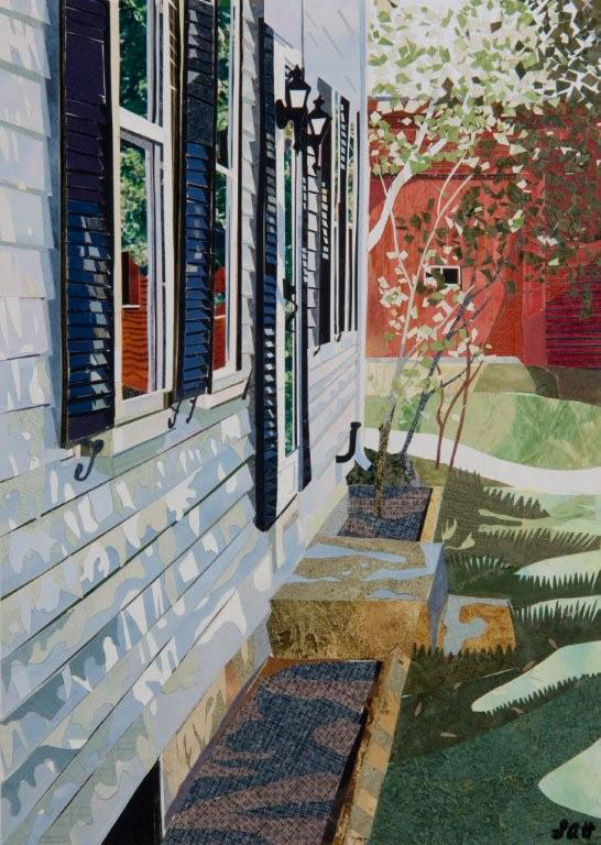 Image Len Haug-In the Shade of my Farn House