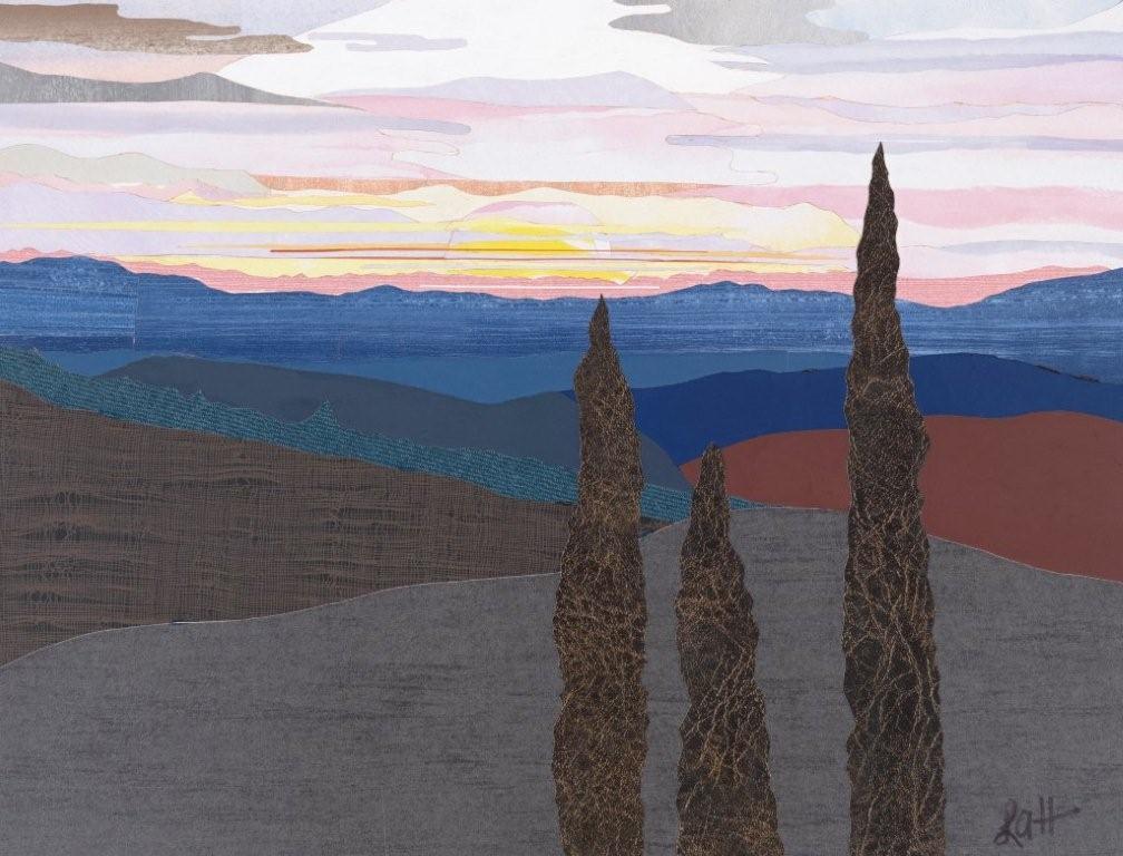 Image Len Haug-Tuscan Sunset Study