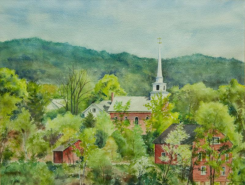 Image-Jane Heywood Coleman Watercolor