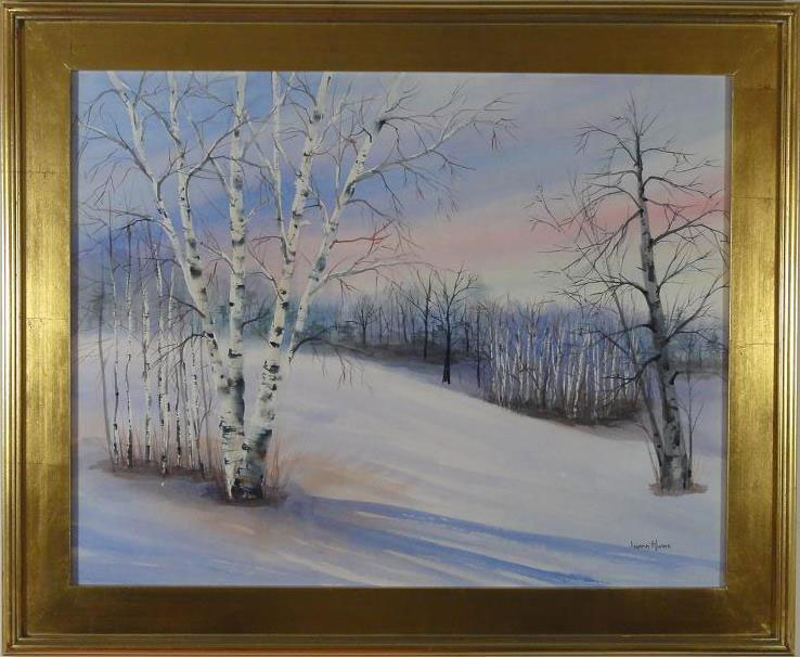 Image Luann Hume - Winter Birches