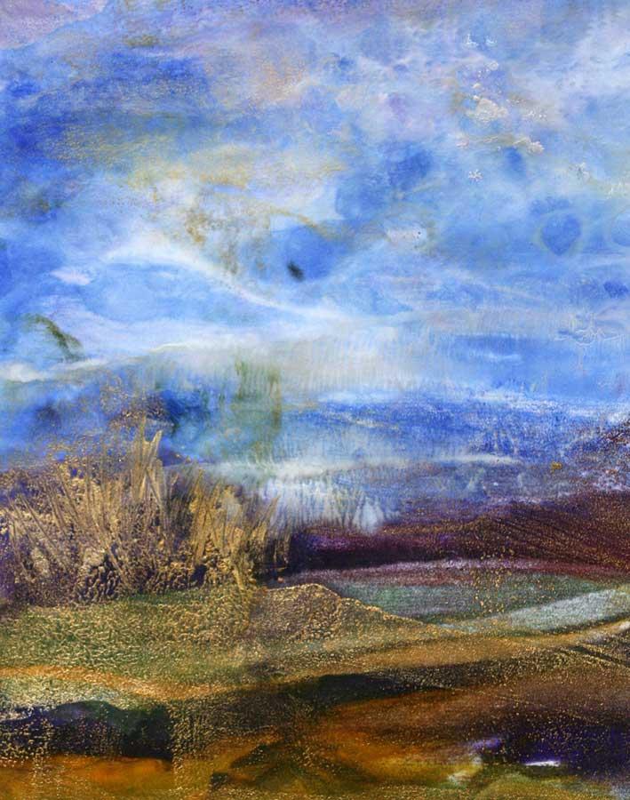 Image Danielle M. Le Bris-encaustic painting