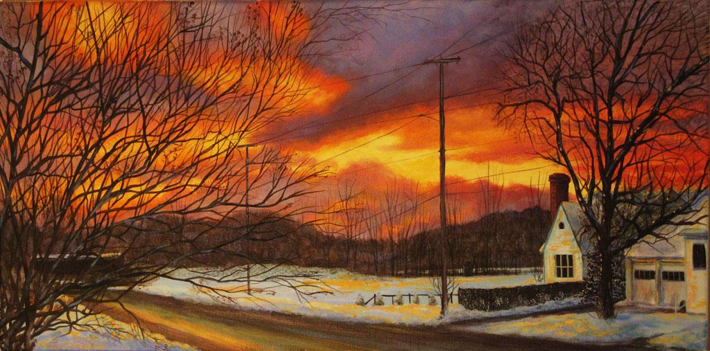 Image MacDonald A Parker Street Sunset
