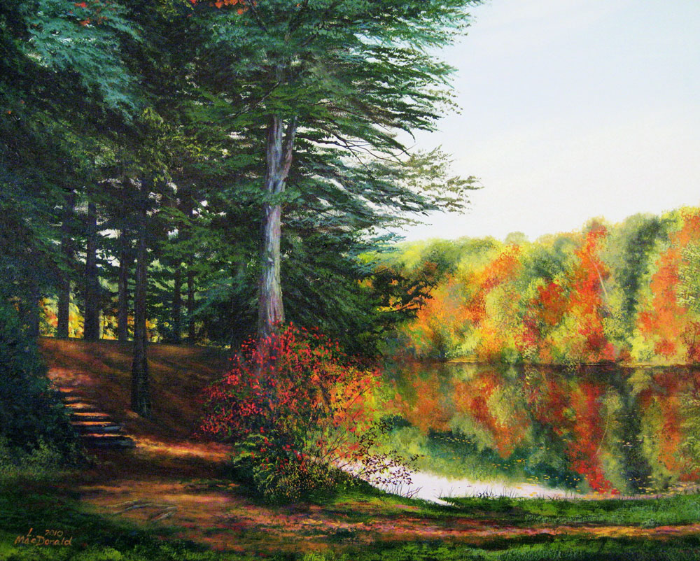 Image Lori MacDonald - Autumn at Dunn Pond