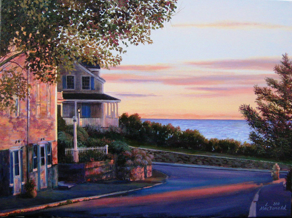 Image Lori MacDonald-Early Morning on King Street