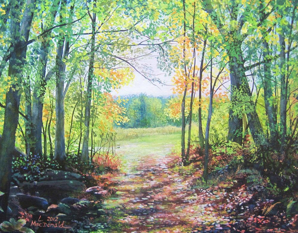 Image Lori MacDonald-Into the Meadow