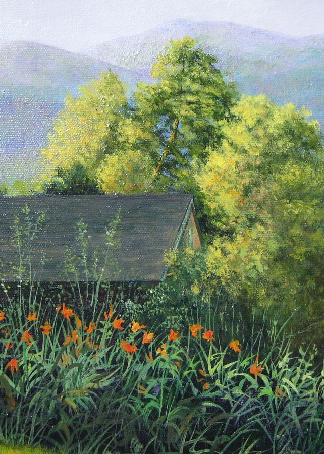 Image Lori MacDonald Landscape Acrylics Class