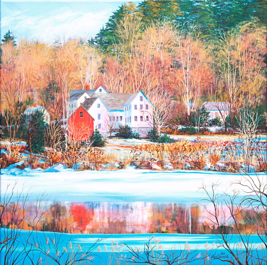 Image Lori MacDonald - MacDonald-A Fleeting January Thaw