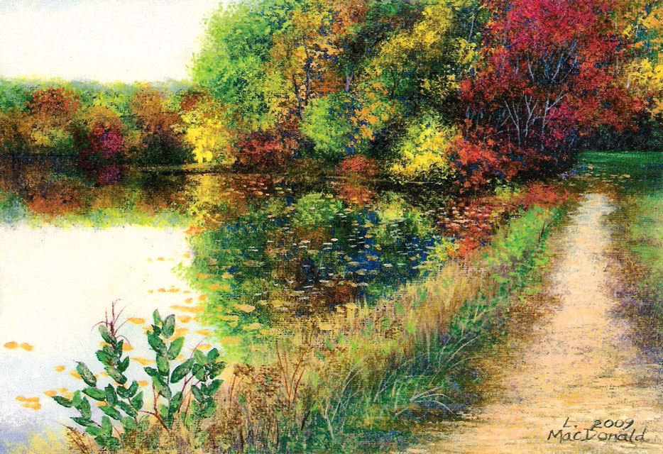 Image MacDonald The Path at Dunn Pond