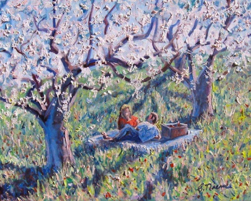 Image Scott Niemi-Picnic Under the Apple Trees