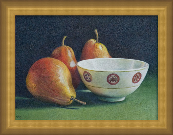 Image Gary Ruuska - Pears with Rice Bowl