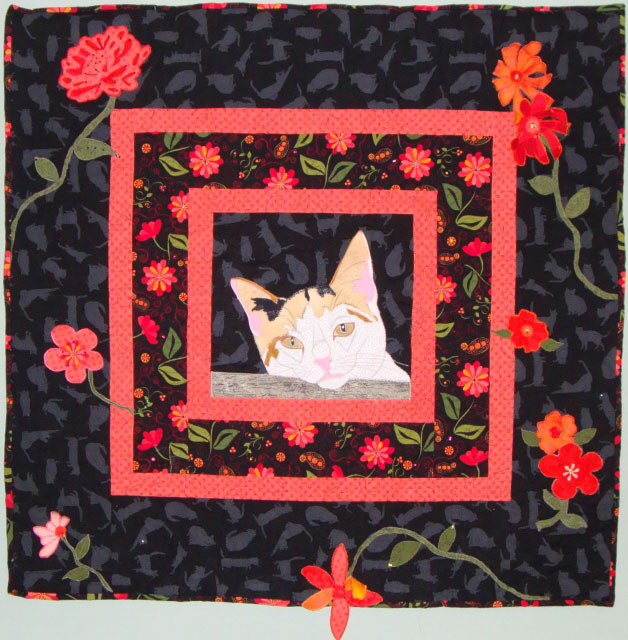 Image Jan Queijo-Cat in the Evening Garden