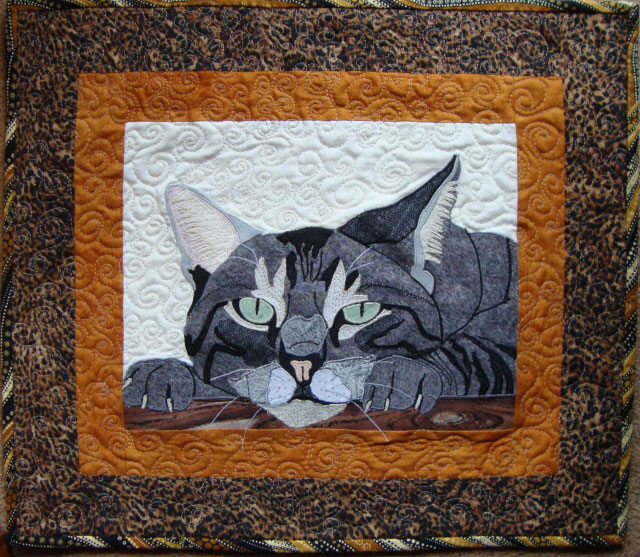 Image Jan Queijo-Jungle Cat Quilt