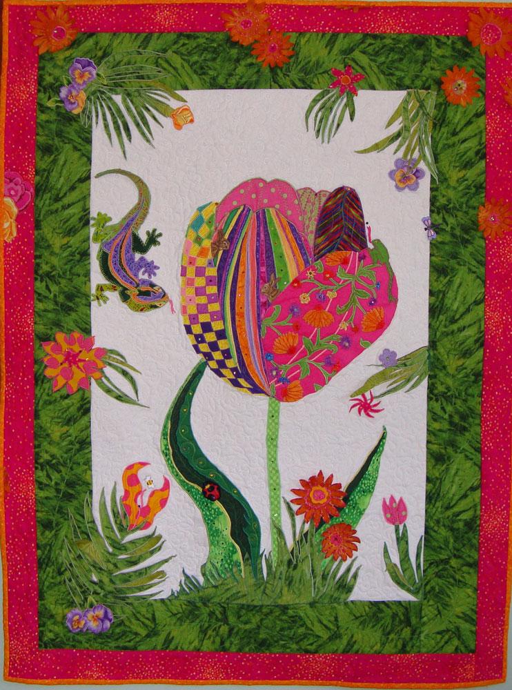 Image Jan Queijo-Wild Flowers Quilt