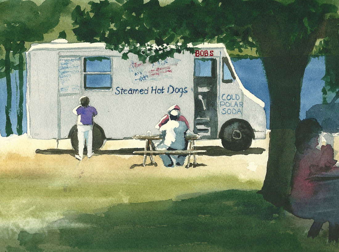 Image Lynn Babineau-Bob's Hot Dog Truck