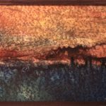 Quabbin Sunrise, Encaustic