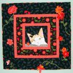 Cat in the Evening Garden, Quilt