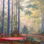 Ann's Canoe in Morning Light