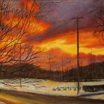 Parker Street Sunset