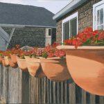 Rhythm, Oil Painting