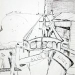 Westport, Pen and Ink