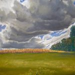 Clouds Over Ferncol/Templeton, Pastel