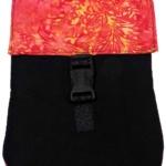 Black Red Cloth Bag-Kathy John
