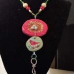 Cardinal Nest Necklace-Deb Giordano