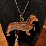Dog Necklace-Deb Giordano 451