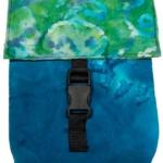 Green Blue Cloth Bag-Kathy John