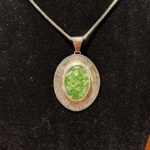 Green Peace Pendant-Joanna Draugsvold