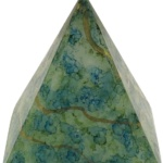 Green Pyramid Candle-Janet Reed