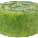 Green Yellow Candle-Janet Reed