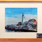 Lighthouse II-Michael Pellegrini-Framed