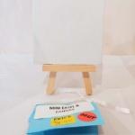 Mini Wood Easel Canvas
