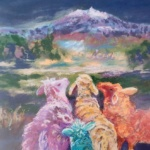 Notecard Sheep-Alicia Drakiotes