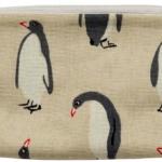 Purse Cloth Penquins
