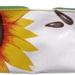 Purse Plastic Sunflowers