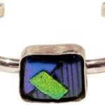 Silver Glass Bracelet-Joanna Draugsvold