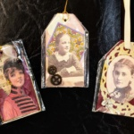 Vintage Xmas Tags I-Louise P Hammerman
